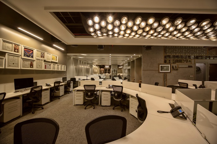 Ravishing and newly designed office of SVF