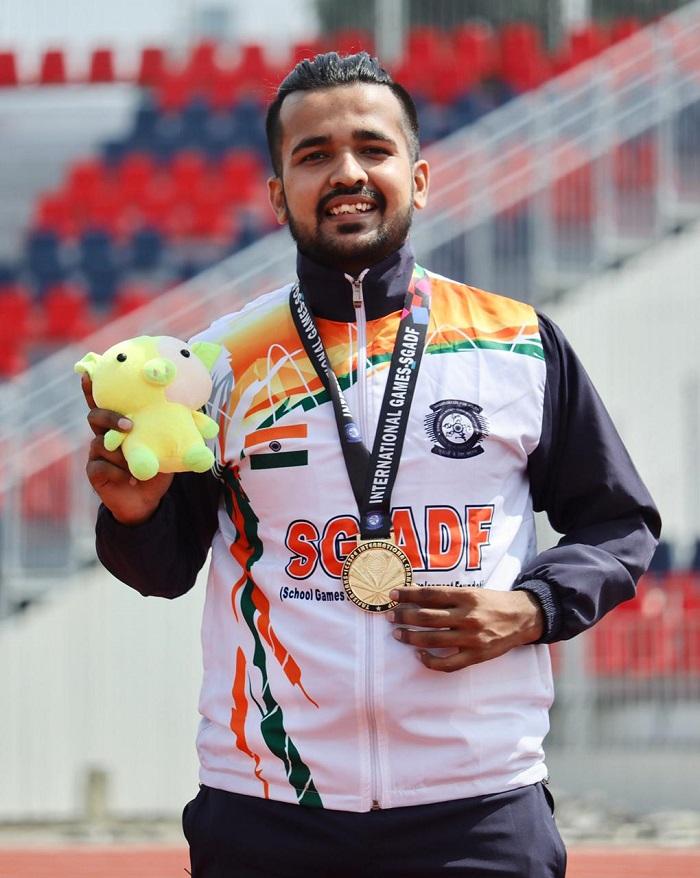 Shivam Thakur, International Championship, SGADF