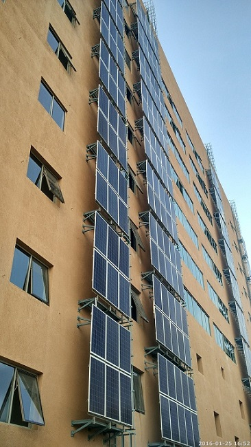 India's largest solar vertical farm in Dell's Bengaluru campus, Whitefield