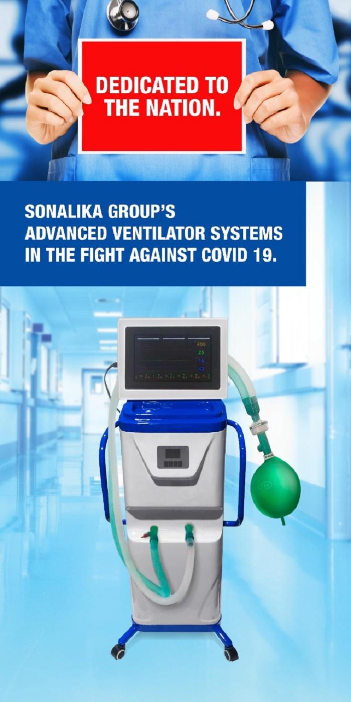 Sonalika Advanced Ventilator System