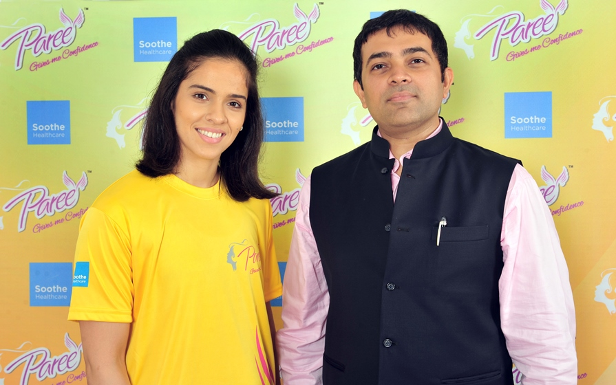 Saina Nehwal invests in Soothe Healthcare Personal Care, makers of Paree™ sanitary pads