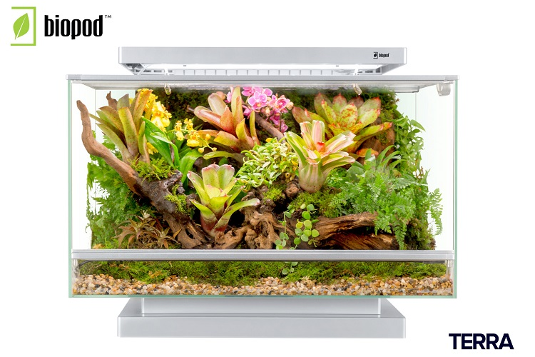 Biopod, the smart Microhabitat, now in India