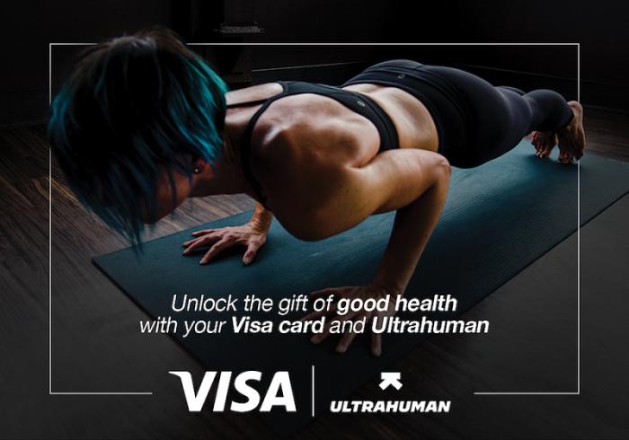 Ultrahuman and Visa Partnership