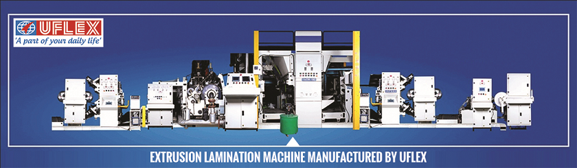 Extrusion Lamination Machine Manufactured by Uflex