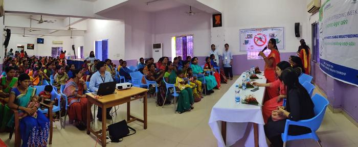 Vedanta Ltd is observing World Breastfeeding Week by organising training programme in Lanjigarh
