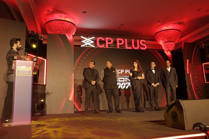 Jacqueline Fernandez at the CP PLUS Award Night hosted by Manish Paul