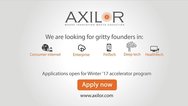Applications open for Axilor?s Accelerator Program ? Batch 6