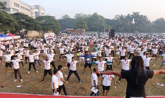 The grooving response on the Beardothon season 2 with more than 1000 at Bangalore