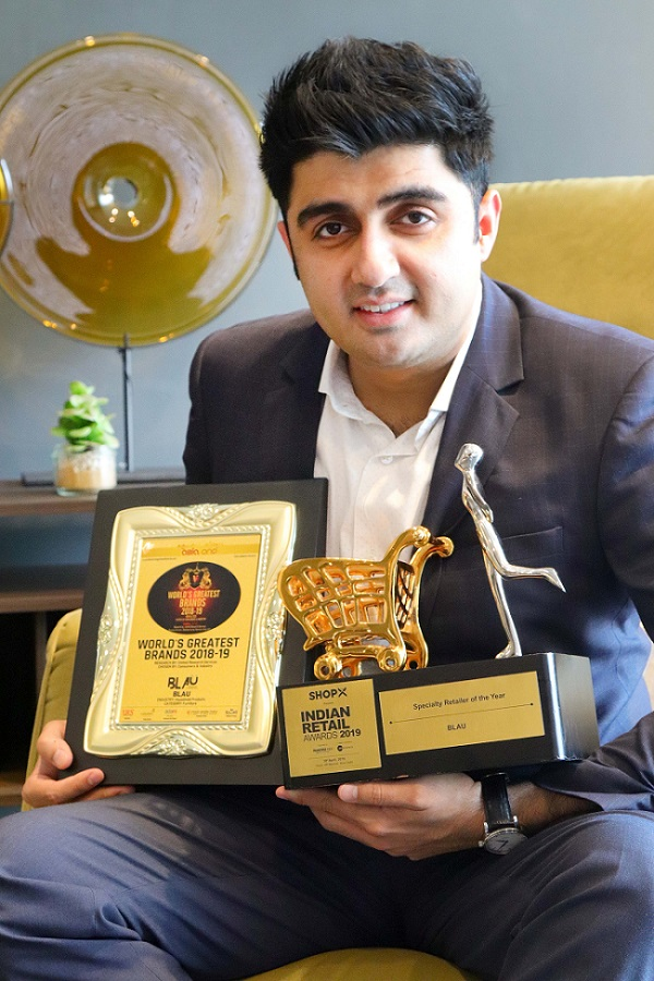 Blaü bags 2 coveted furniture retail awards