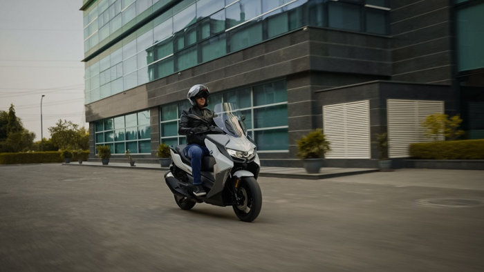 Mr. Vikram Pawah, President, BMW Group India on the all-new BMW C 400 GT