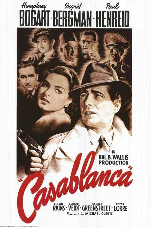 "The Nostalgic Show will open with Hollywood Classic ""Casablanca"""