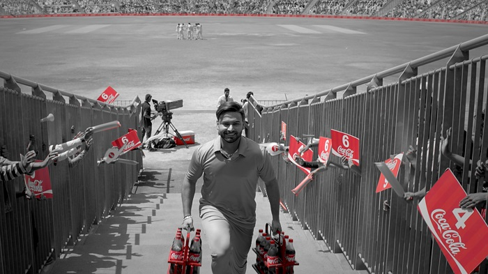 Rishabh Pant in the 12th Man TVC