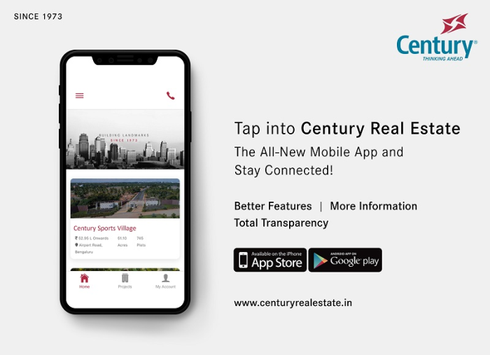 Century Real Estate?s All New Mobile App