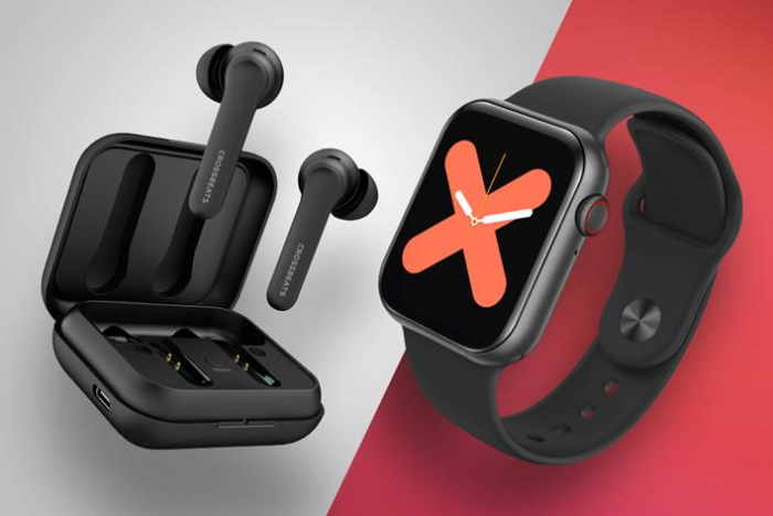 Crossbeats brings the perfect upgrade to your routine with Enigma Wireless Earbuds and Ignite S2 smartwatch