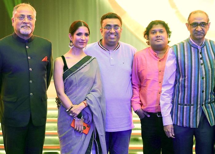 (From L-R) Lal Bhatia, Richa Sharma, Raajhorshe De, Ashu Biswas & Imran Zaki