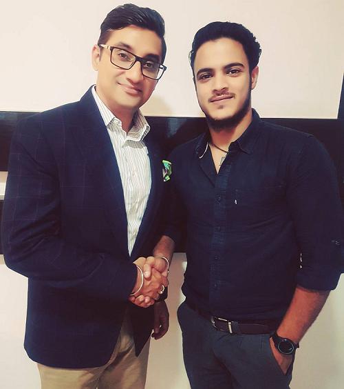 (L-R) Kapil Malhotra, Co-Founder & Board Member and Vishvadeep Nagi, CEO & Founder