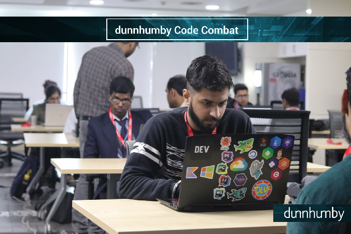 Top coders from all over India battle it out in the final round at dunnhumby's Gurgaon campus
