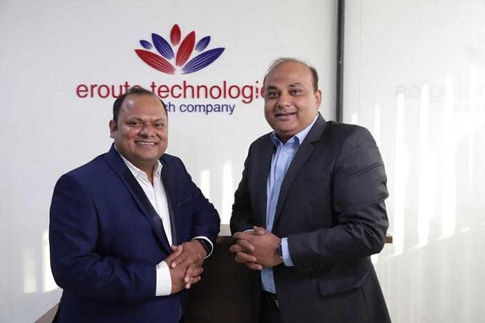 Founders of Eroute Technologies- Abhishek Saxena & Sanjeev Pandey