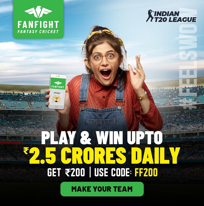 Playing Daily Fantasy Cricket Leagues on FanFight Feels Wow