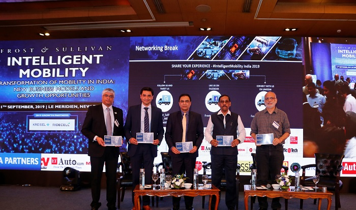 Frost & Sullivan's whitepaper on Electrification of Mobility in India released at its Summit - Intelligent Mobility 2019 in India