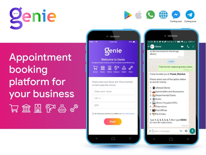 """Gray Matrix launches Genie - a global WhatsApp first """"Shop by Appointment"""" platform"""