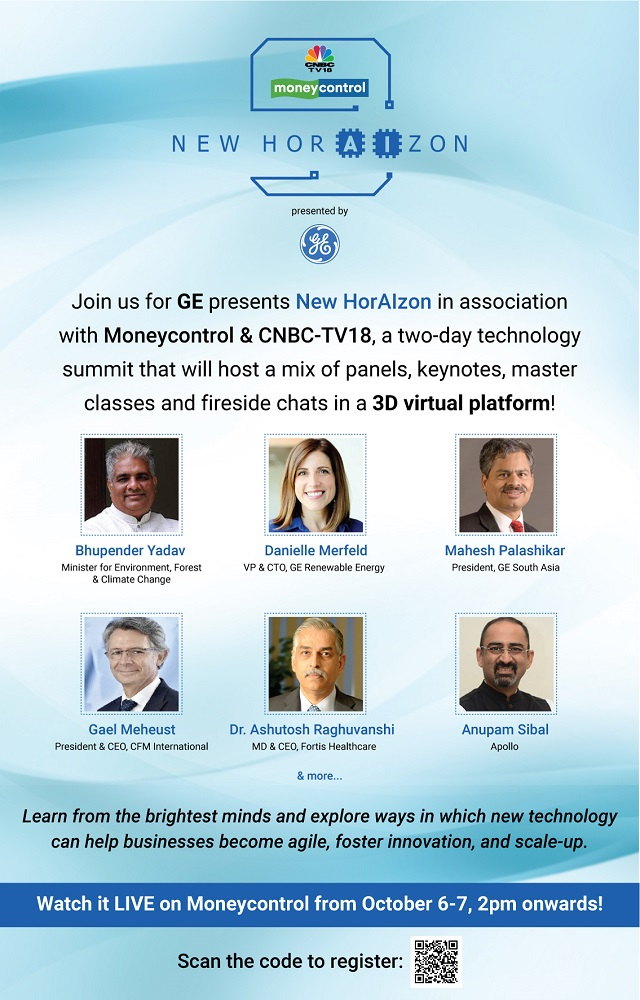 Moneycontrol and CNBC-TV18 Announce New HorAlzon Summit to See How Technology Can Emerge as an Enabler in Social Good