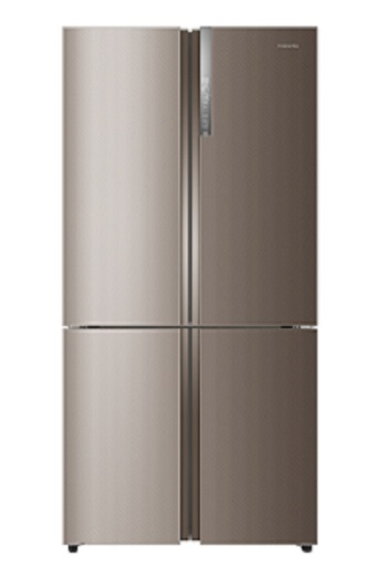 HRB 738 SS – French Four Door Refrigerator