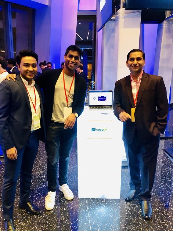 Suhas Gopinath, Co-founder of HappyEMI; Ankur Jain, Founder of Kairos Society; Anand Sankeshwar, Co-founder of HappyEMI