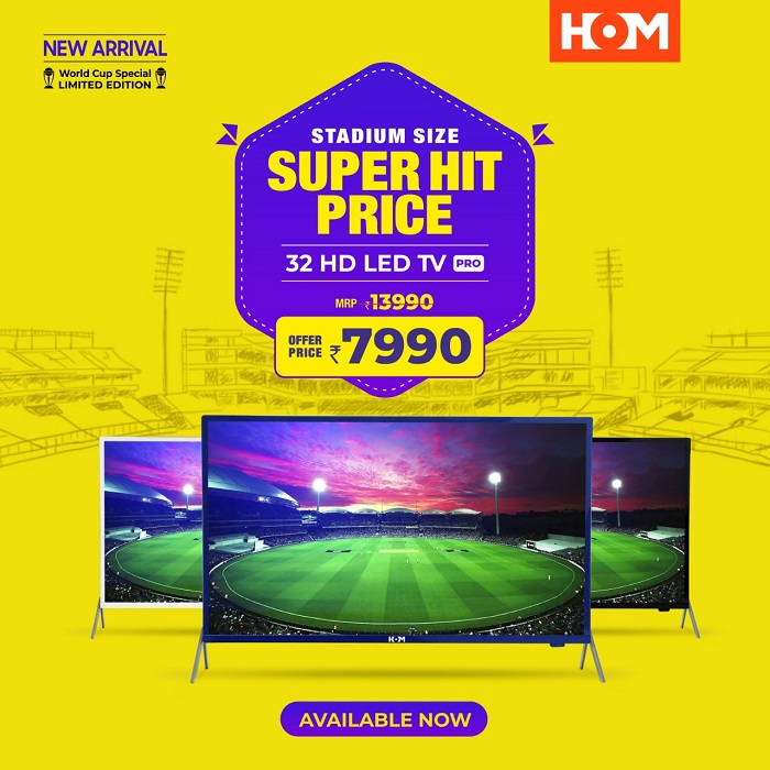 The All New HOM 32 HD LED; Now Just @7990/-