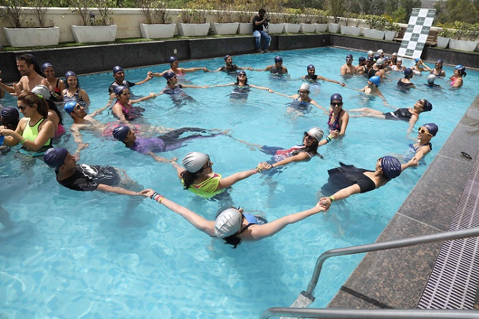 "<b>Sunkissed Aqua Zumba® Tour Powered by Speedo</b>""></td> </tr> <tr> <td width="