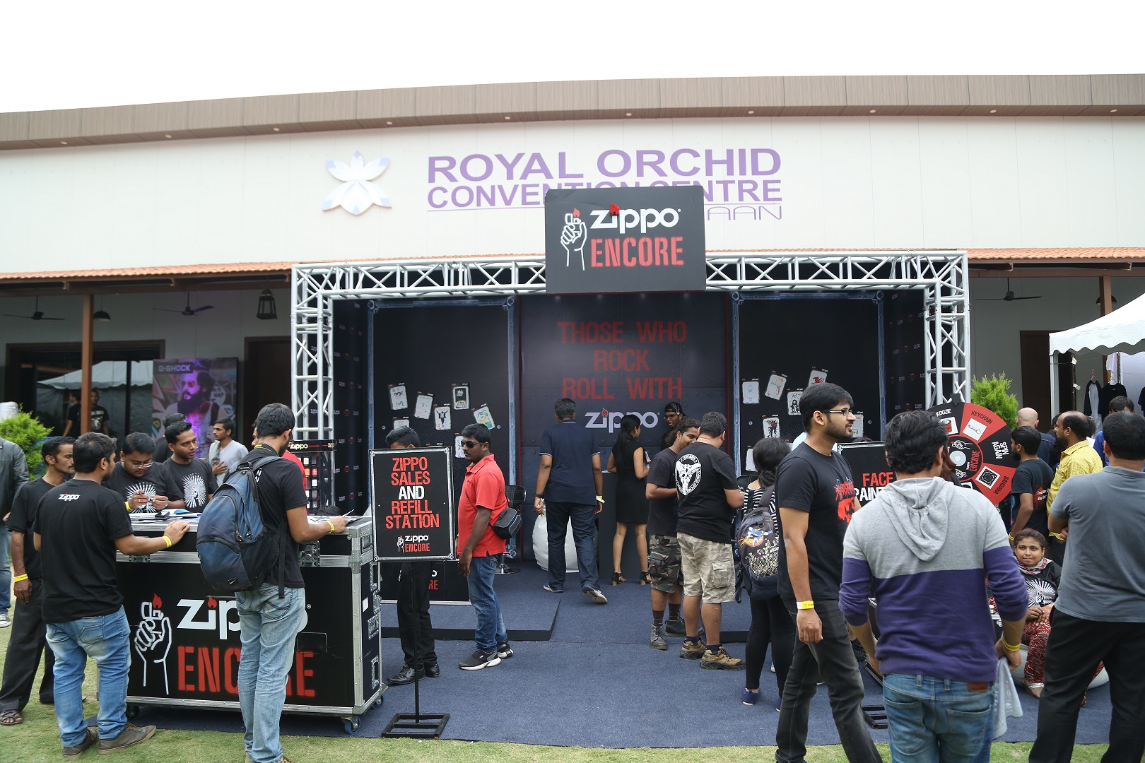 Zippo Encore Area at Bangalore Open Air 2017