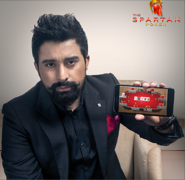 <b>Rannvijay Singh &#8211; Brand Ambassador of The Spartan Poker</b>&#8220;></td> </tr> <tr> <td width=