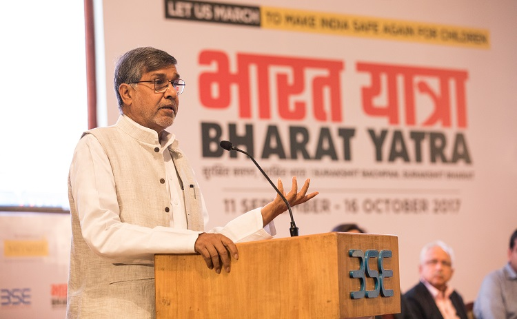 Nobel Peace laureate, Shri Kailash Satyarthi
