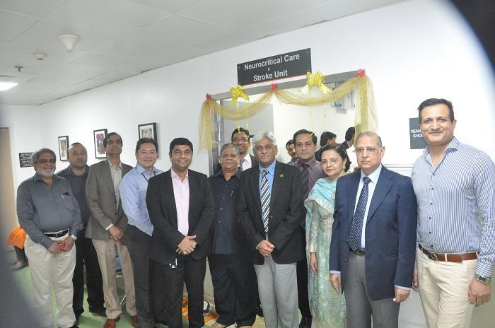 The Neuro Critical Care and Stroke Unit at Global Hospital, Mumbai