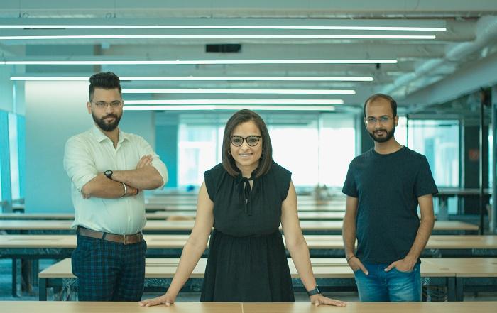 Team WYN Studio (L-R) Shrey Oberoi (Founding Team Member & Head of Production & Programming), Souniya Khurana (Co-Founder & CEO), Bijay Gautam (Co-Founder & Chief Creative Officer)