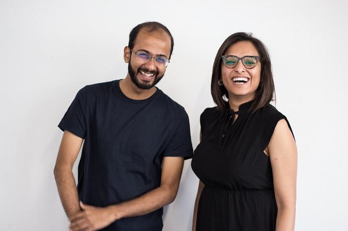 Team WYN Studio (L-R) Bijay Gautam (Co-Founder & Chief Creative Officer) and Souniya Khurana (Co-Founder & CEO)