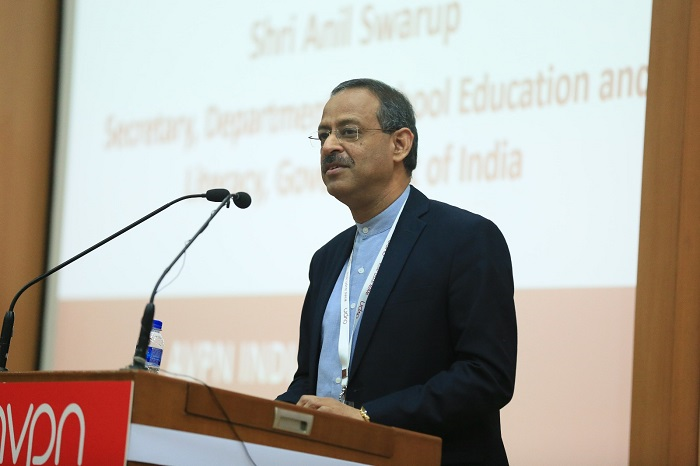 Shri. Anil Swarup, Secretary, Dept of school education & literacy, Govt of India