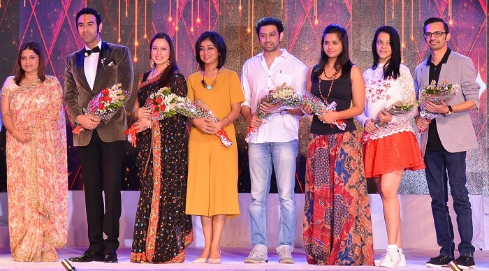 (L - R) - Kavita Sahay, Vice Chairperson of VIBGYOR Group of Schools, Sandip Soparrkar, Shilpa Singh, Atika Farooqui, Vaibhav Guray, Daljeet Kaur, Rashna Todiwalla, Pranay Pradhan