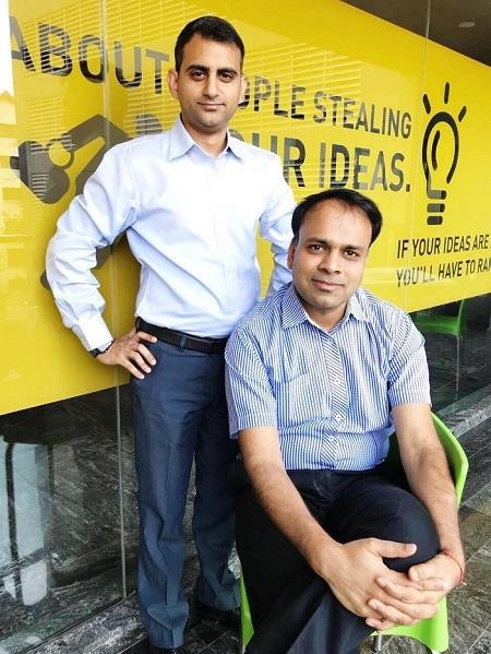 (L-R): Akshay Mehrotra (CEO) & Ashish Goyal (CFO), EarlySalary