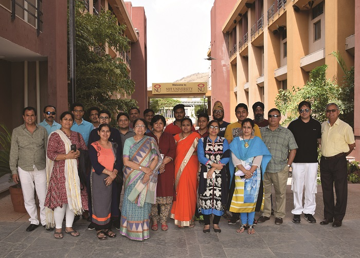 NU organises 'Camp Future' for students who have recently completed their Class XII