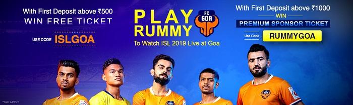 Adda52 Rummy is Official Title Sponsor of ISL 2019, Goa