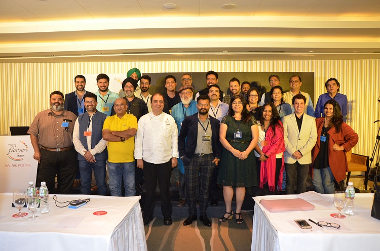 Food Stalwarts of India come together to 'Map Flavours of India' presented by Kellogg India