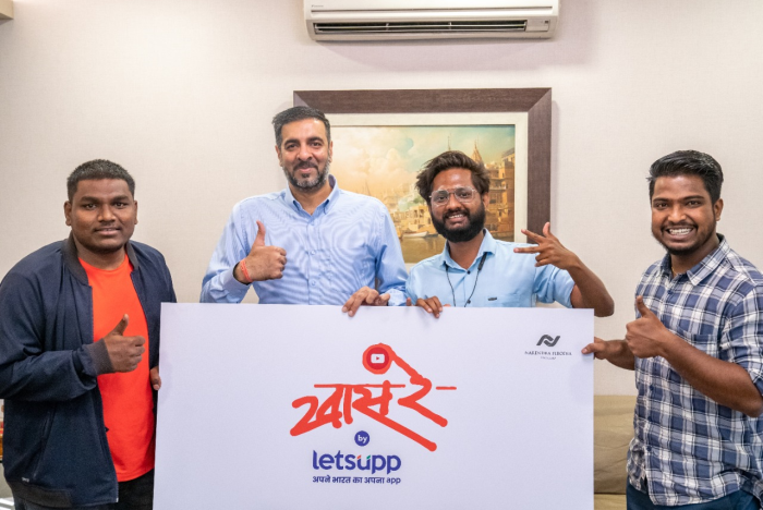 Popular Hyperlocal Vernacular platform 'LetsUpp' led by Entrepreneur Narendra Firodia acquires majority stake in well known digital entertainment company 'Khaas Re TV'
