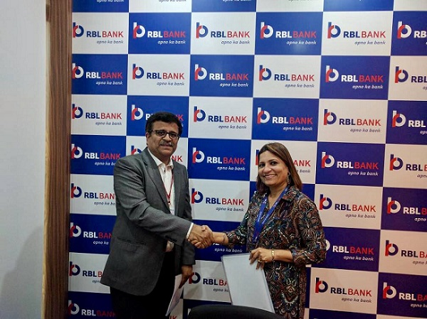 Ms. Shanta Vallury Gandhi, Head – HR, CSR and Internal Branding, RBL Bank and Mr. Ravi Panchanadan, President & COO, Manipal Global Education Services Pvt Ltd were present for the signing formality