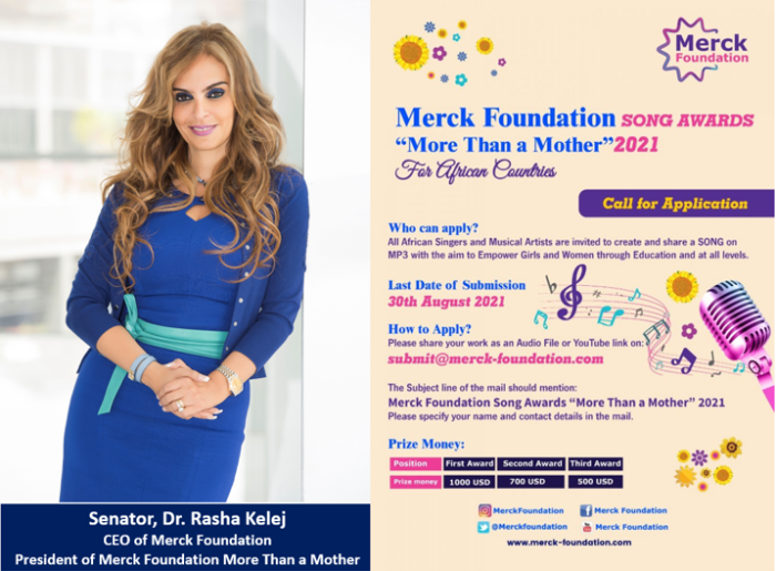 Merck Foundation Africa Song Awards ?More Than a Mother? 2021