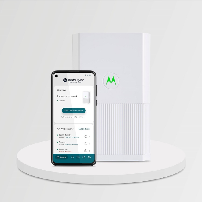 Motorola Networking Products Launch in India