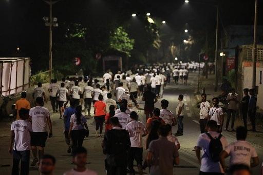 The grooving response on the Beardothon season 2 with more than 1700 at Mumbai