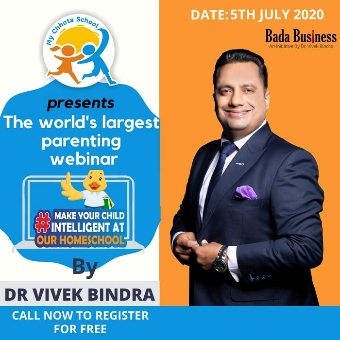 Homeschool Webinar by Dr. Vivek Bindra