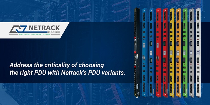 Address the criticality of choosing the right PDU with Netrack's PDU variants