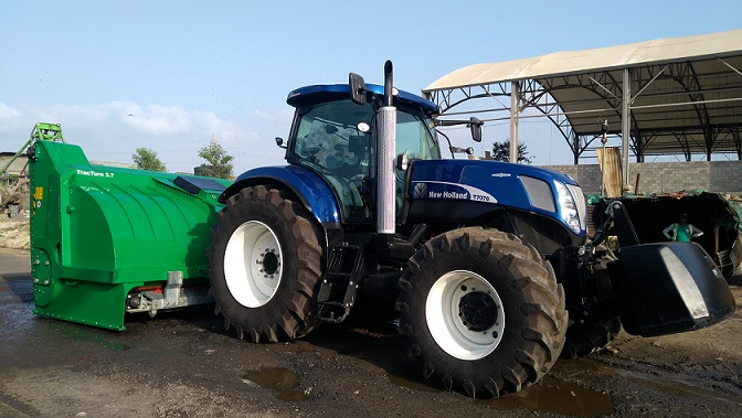 India's First 230HP New Holland T7070 Blue Power tractor